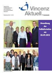 Einweihung der Palliativstation am 28.09.2012 Neubau ...