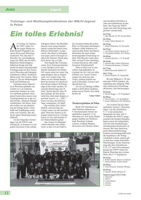 11 / 2007 November K 10339 2,65 EUR - Dachverband für ...