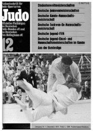 Deutsche Mannschaftsmeisterschaften in Berlin - Chronik des Karate