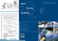 Sport hits the headlines - Polinternational - Politecnico di Milano