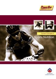 Current Concepts in Sports Nutrition - Australian Sports Commission