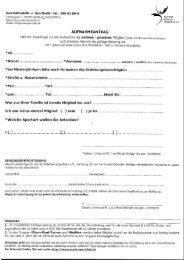 Aufnahmeantrag neu ab 01.01.13 - SC Alstertal Langenhorn