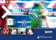 Sport Northern Ireland's Annual Review 2006/07