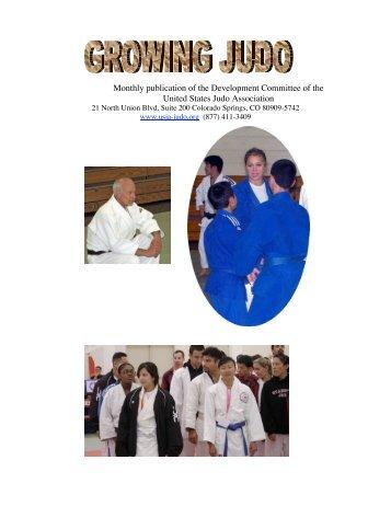 Growing Judo - July 2008 - Judo Information Site