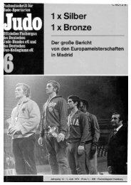 DJB-Magazin Nr. 6 - Chronik des Karate
