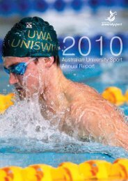 Australian University Sport Annual Report