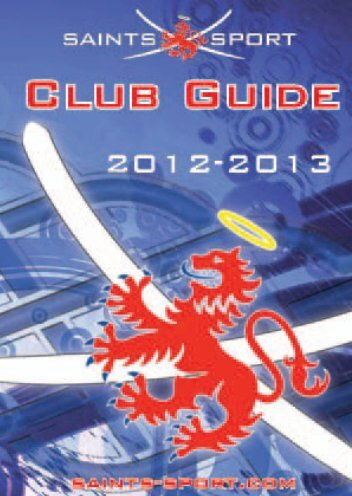 Club Guide 2012-13 - University of St Andrews