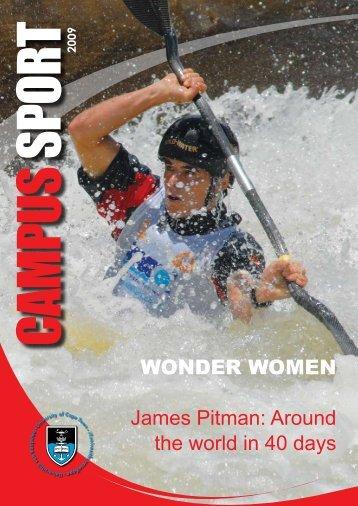 WONDER WOMEN James Pitman: Around the world in 40 days