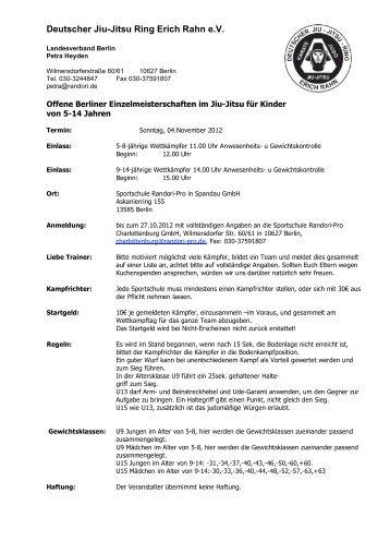 Deutscher Jiu-Jitsu Ring Erich Rahn e.V. - DJJR Deutscher Jiu Jitsu ...
