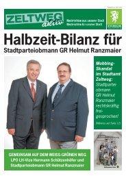 Stadtparteiobmann GR Helmut Ranzmaier - Steirische Volkspartei