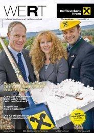 Privatklinik Hollenburg: 70 neue Arbeitsplätze in der ... - Raiffeisen