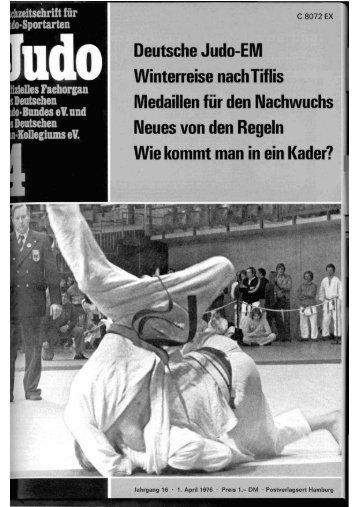 DJB-Magazin Nr. 4 - Chronik des Karate