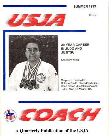 USJA Coach - Summer 1999 - Judo Information Site