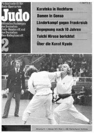 DJB-Magazin Nr. 2 - Chronik des Karate