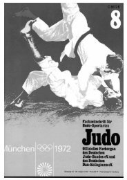 DJB-Magazin Nr. 8 - Chronik des Karate