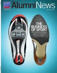 THE BUSINESS OF SPORT - London Business School