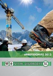 ARBEITSSCHUTZ 2012 - Stahl-Eberhardt