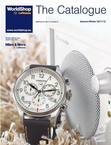The Catalogue - Lufthansa WorldShop