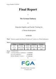 Final Report for a Tibetan Kindergarten 2012.pdf - Life and Culture ...