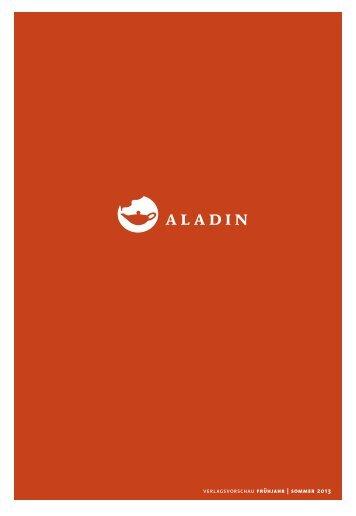 Vorschau Frühjahr 2013 - Aladin