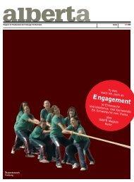 PDF Download 02 | 2009 - alberta - das freiburger magazin für ...