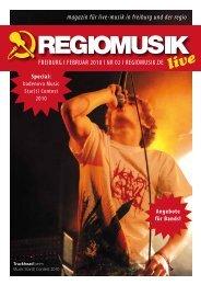 FREIBURG l FEBRUAR 2010 l NR 02 l REGIOMUSIK.DE live ...