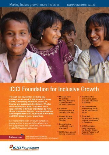 inclusive growth an indian experience Download citation | inclusive growth in | the indian experience with reforms in the last two decades reveals that while there have been achievements on the economic growth front, inequalities have increased and exclusion continues.