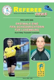 REFEREE nneeewwwss - Fédération Luxembourgeoise de Football