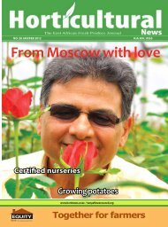 Horticultural News January - February issue