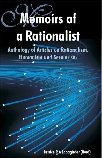 memoirs of a rationalist justice r. a. jahagirdar (1.6 - Arvind Gupta