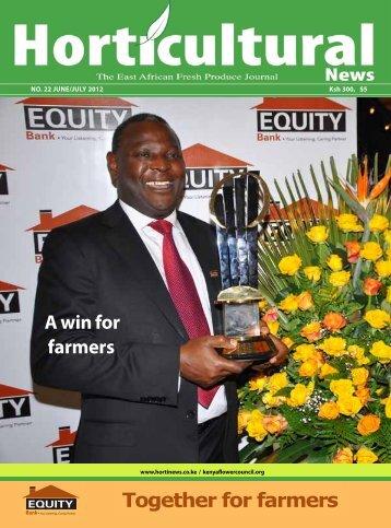 July 2012 issue - Hortinews.co.ke