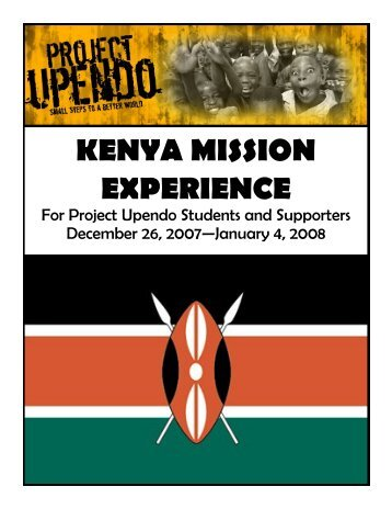 Download Kenya Information Forms Here! - St. Mark's Church