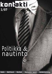 Politiikka & nautinto - Helsinki.fi