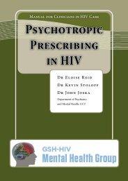 Psychotropic Prescribing in HIV - GSH-HIV Mental Health Group