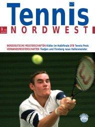Tennis NORDWEST 1-2010 - Tennisverband NORDWEST eV