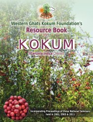 Western Ghats Kokum Foundation - Organic Farming Association of ...