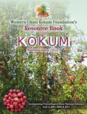 Western Ghats Kokum Foundation - Organic Farming Association of ...