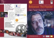 South Asian Cinema Foundation - University of Westminster