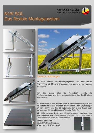 KUK SOL Das flexible Montagesystem - Kastens & Knauer GmbH ...