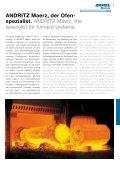 Ofenanlagen für die Stahl- und Kupfer-Industrie. Furnace systems ... - Page 3
