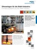 Ofenanlagen für die Stahl- und Kupfer-Industrie. Furnace systems ... - Page 5
