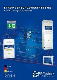 Power Supply Systems - AWAG Elektrotechnik AG www.awag.ch