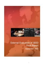 External Evaluation of SEED Final Report - SEED - Schule.at