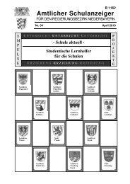 Nr. 4 - Die Regierung von Niederbayern