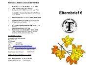 Termine, Zeiten und andere Infos - Johannes-Tews-Grundschule