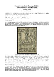Das schweizerische Kartengedächtnis ... - Universität Bern