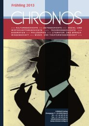 Literaturarchiv – Literarisches Archiv - Chronos Verlag