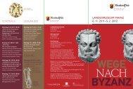 Folder Byzanz - Landesmuseum Mainz
