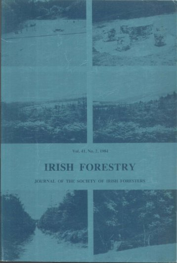 Download Full PDF - 23.85 MB - The Society of Irish Foresters