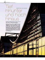 Tief hinunter und hoch hinaus - handfest-online.de